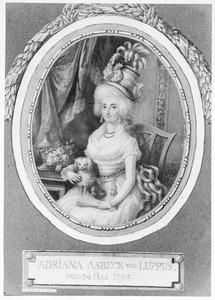 Portret van Adriana Luppus (1761-1831)