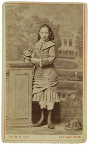 Portret van Margaretha Kuipers (1872- )