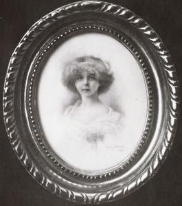 Portret van Marie José van Saksen-Coburg-Gotha (1906-2001 )