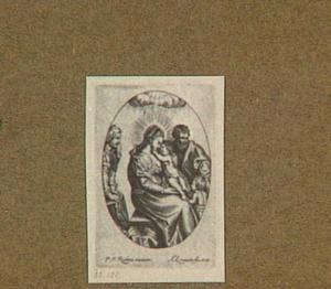 De heilige familie met Johannes de Doper en Elizabeth