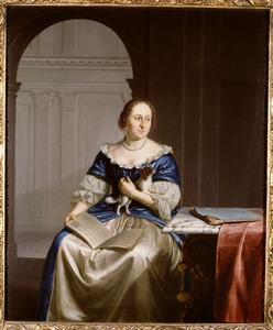 Portret van Margaretha van der Straaten (1659-1743)