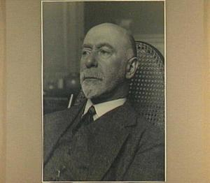 Portret van de schilder Isaac Israels (1865-1934)