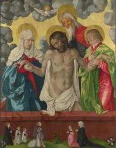 Heilige Drieëenheid en Pietà