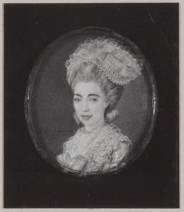 Portret van Catharina Johanna Goll van Franckenstein (1752-1788)