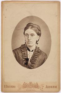 Portret van Petronella Valckenier (1837-1882)