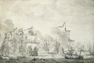 De Slag in de Sont 1658