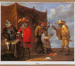 Apen-allegorie: bij de kwakzalver