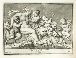 De triomf van Bacchus (pl. XXX)