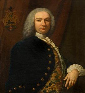 Portret van Jacob van Strijen (1706-1756)