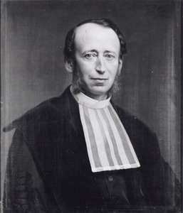 Portret van Petrus Johannes van Kerckhoff (1813-1876)