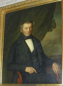 Portret van Cornelis Bergsma (1799-1881)