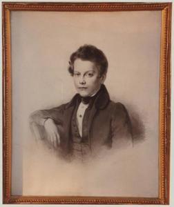Portret van Boudewijn de Roo (1818-1844)