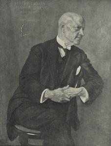 Portret van Hendrik Johannes Haverman (1857-1928)