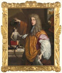 Portret van John Wilmot, 2nd Earl of Rochester (1647-1680)