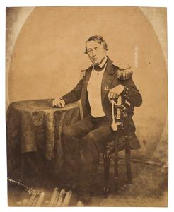Portret van Spanjaard, commandant van de Kweekschool voor de Zeevaart