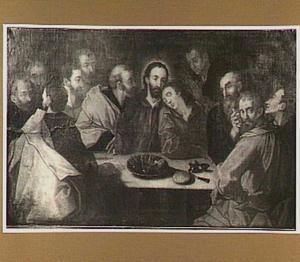 Het laatste avondmaal (Mattheus 26:17-29; Marcus 14:12-25; Lucas 22: 7-23; Johannes 13:21-30)