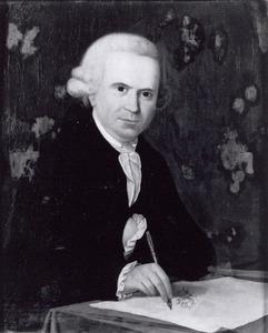 Zelfportret van Johannes Craco (1745-1807)