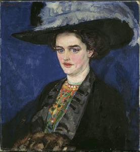 Portret van mevr. O. Esser-Hazelhoff Roelfzema (1889-1924)