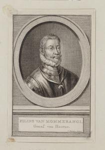 Portret van mogelijk Floris van Montmorency Montigny (1527-1570)