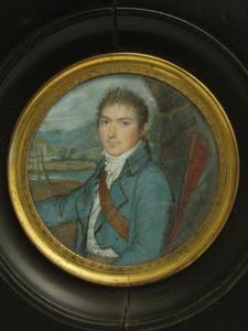 Portret van een man, waarschijnlijk uit familie Boode