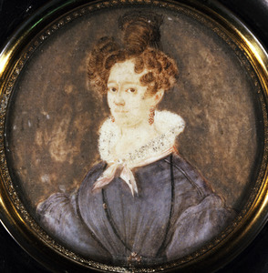 Portret van Johanna Cornelia Theresia Charle (1804-1874)