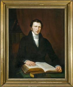 Portret van Hendrik Anneveld (1800-1875)