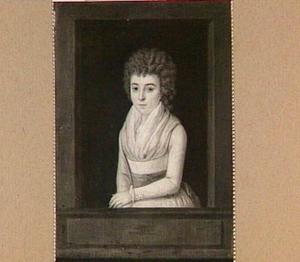 Portret van Eleonora Petronella Elisabeth van Oldenbarneveld genaamd Witte Tullingh (1775-1848), echtgenote van Daniel Willem Abraham Patijn