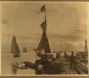 De haven van Enkhuizen