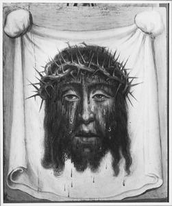 De afdruk van het gelaat van Christus op de zweetdoek van de H. Veronica