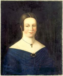 Portret van Elisabeth de Neufville (1822-1840)