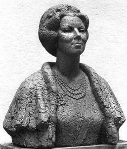 Portret van koningin Beatrix (1938)