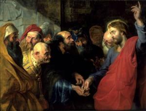 De cijnspenning (Mattheus 22:19)