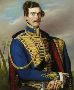 Portret van Vorst Maximilian Maximilianowitsch Romanowsky (1812-1852), geboren Maximilian hertog von Leuchtenburg