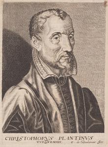 Portret van Christoffel Plantijn (1520-1589)