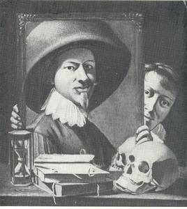 Zelfportret van Anthonie van Steenwinckel
