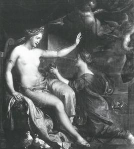 Venus en Psyche met de doos van Pandorra