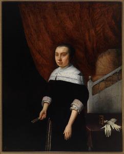 Portret van Margaretha van Outshoorn van Sonnevelt (1639-1715)