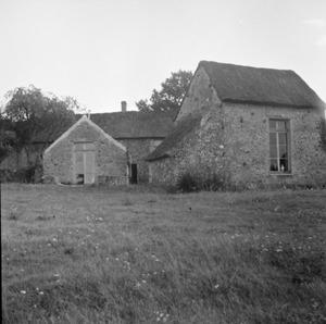 De boerderij 'l'Enclos de Talon' van Jan Bronner in de Chevreusevalei tussen Parijs en Chartres