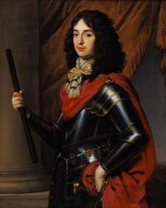 Portret van Eduard, prins van de Palts (1625-1663)