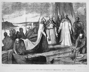 Samenkomst van Karel de Eenvoudige en Hendrik de Vogelaar