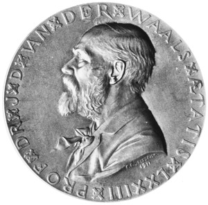 Portret van Johannes Diderik van der Waals (1837-1923)