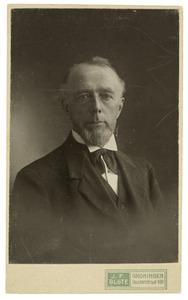 Portret van Duurt Sikkes Sikkema (1852-1915)