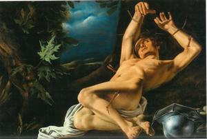 De stervende St. Sebastiaan