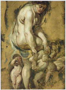 Venus trekt een doorn uit haar voet