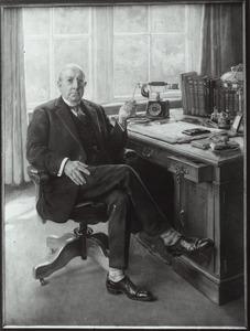 Portret van A. de Groot