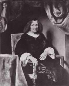 Portret van Johanna del Corne ( -1674)