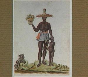 Moorse vrouw met kind