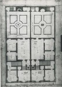 Palazzo Cattaneo Adorno: grondplan