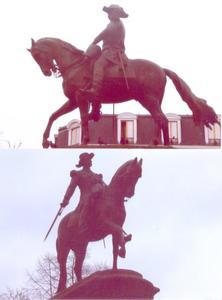 Ruiterstandbeeld van generaal Faidherbe