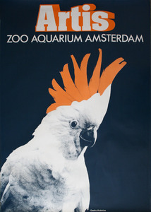 Artis-Tentoonstellings-Affiche: 'Artis Zoo Aquarium Amsterdam'